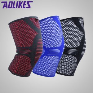New-Nylon-Elastic-Fitness-Knee-Brace-Compression-Support-Sleeve-Basketball-Sports-Protect-patella-Arthritis-Joint-Pain_2